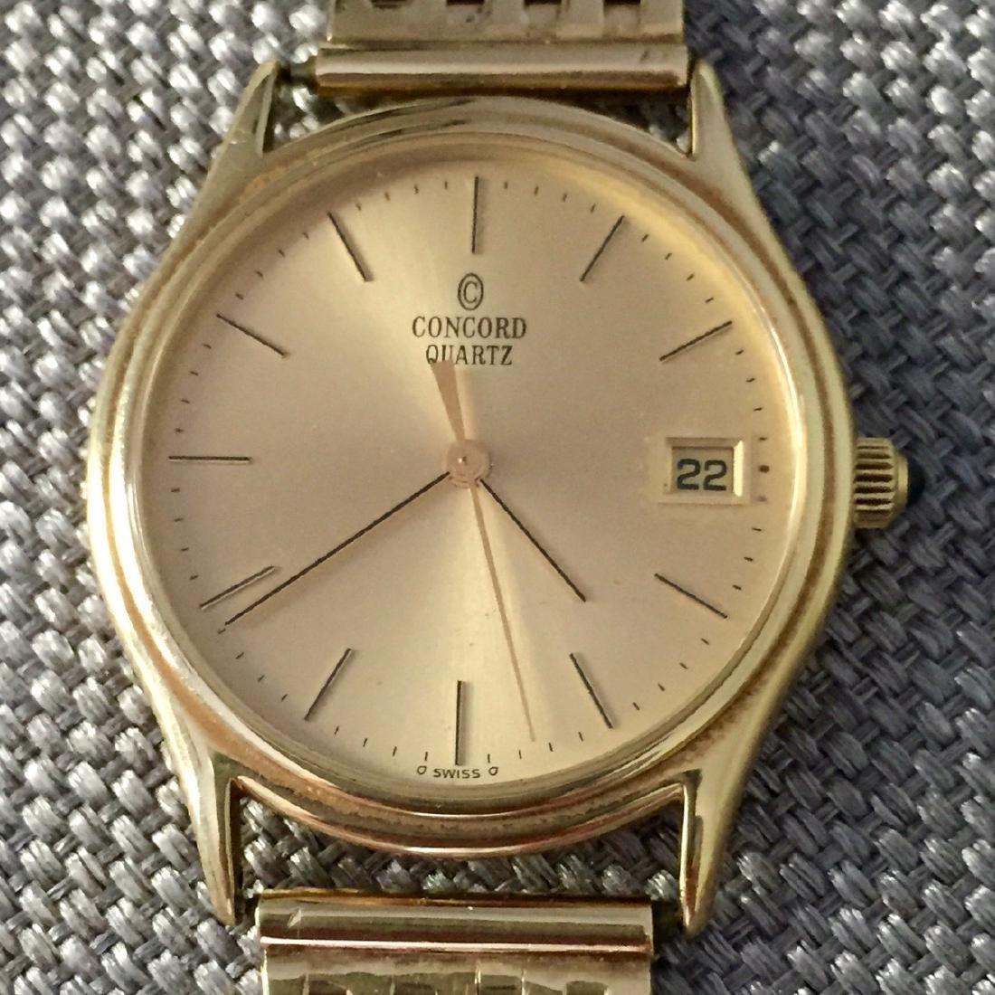 Vintage Concord La Scala Gold Men's Watch, 1970s
