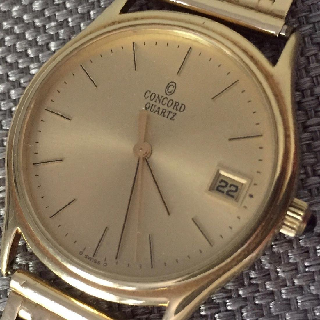 Vintage Concord La Scala Gold Men's Watch, 1970s - 2