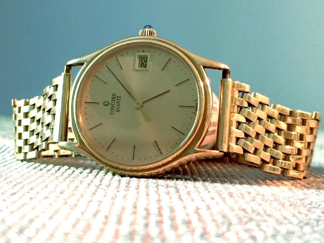 Vintage Concord La Scala Gold Men's Watch, 1970s - 5