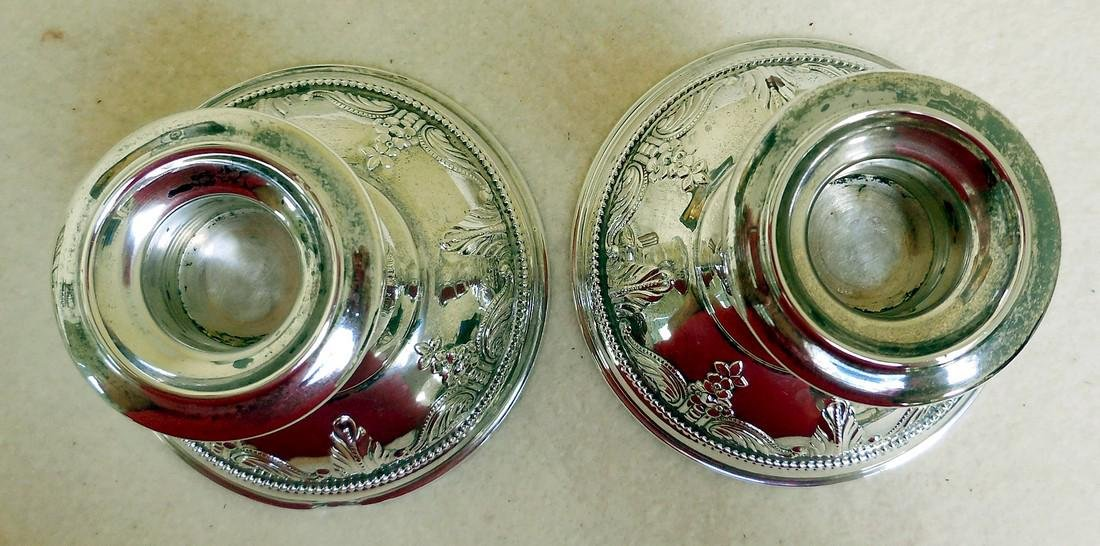 Mid-Century Wallace Stradivari Sterling Candleholders - 5