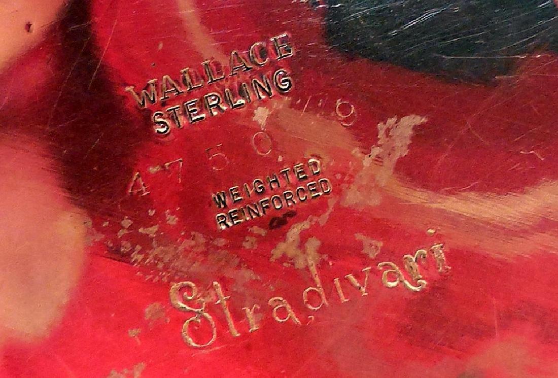 Mid-Century Wallace Stradivari Sterling Candleholders - 6