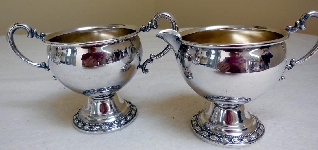 Vintage LaPierre Sterling Silver Holloware Set, 1920s - 4