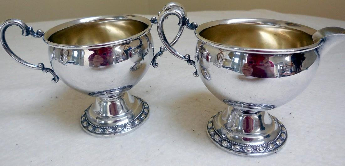Vintage LaPierre Sterling Silver Holloware Set, 1920s - 5