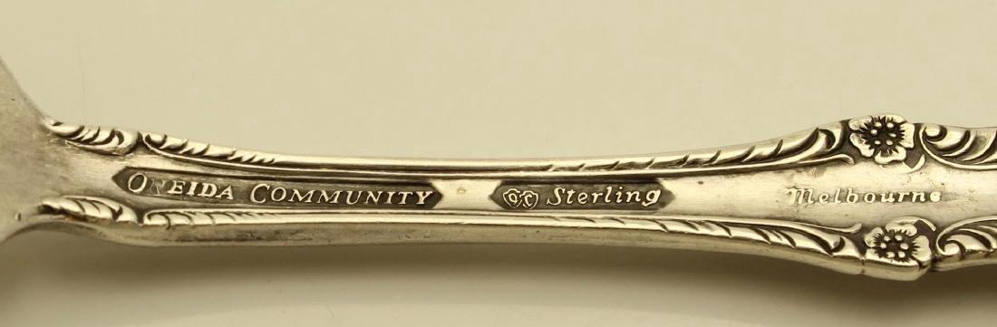 Vintage Oneida Melbourne Sterling SIlver Youth Fork - 3