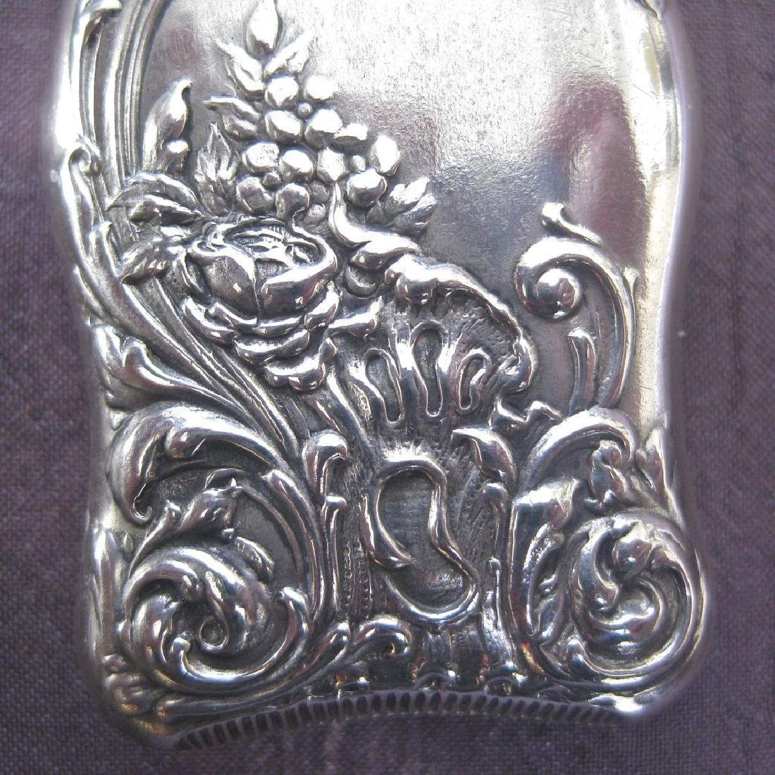 R. Wallace & Sons Sterling Silver Gilt Match Safe - 5