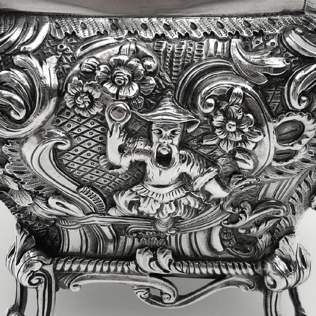 Antique Scottish Georgian Sterling Tea Caddy Box, 1823 - 5