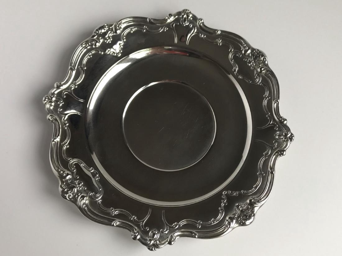 Vintage Gorham Chantilly Sterling Silver Duchess Plate