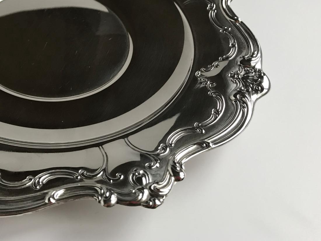 Vintage Gorham Chantilly Sterling Silver Duchess Plate - 2