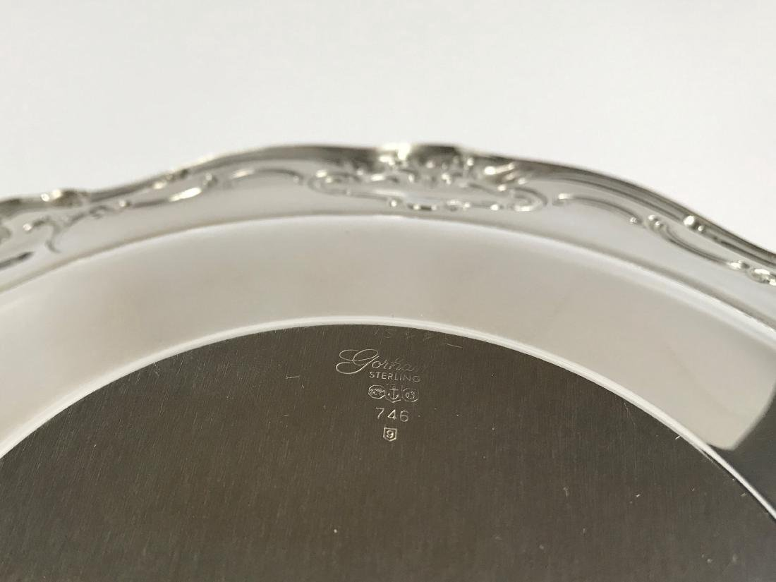 Vintage Gorham Chantilly Sterling Silver Duchess Plate - 5