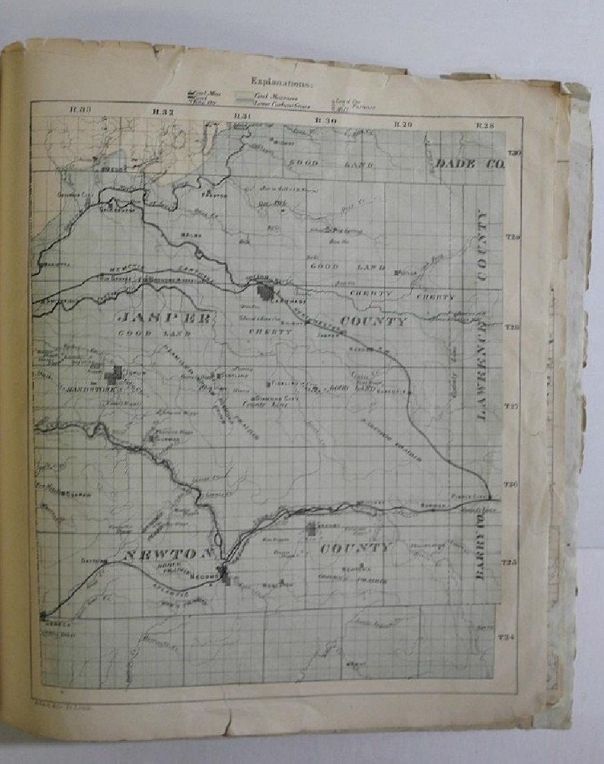 Antique Missouri County Atlas, 1874 - 10