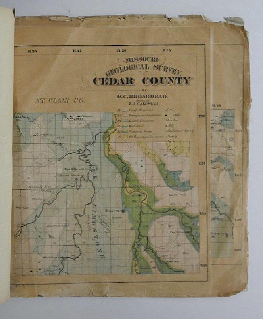 Antique Missouri County Atlas, 1874 - 3