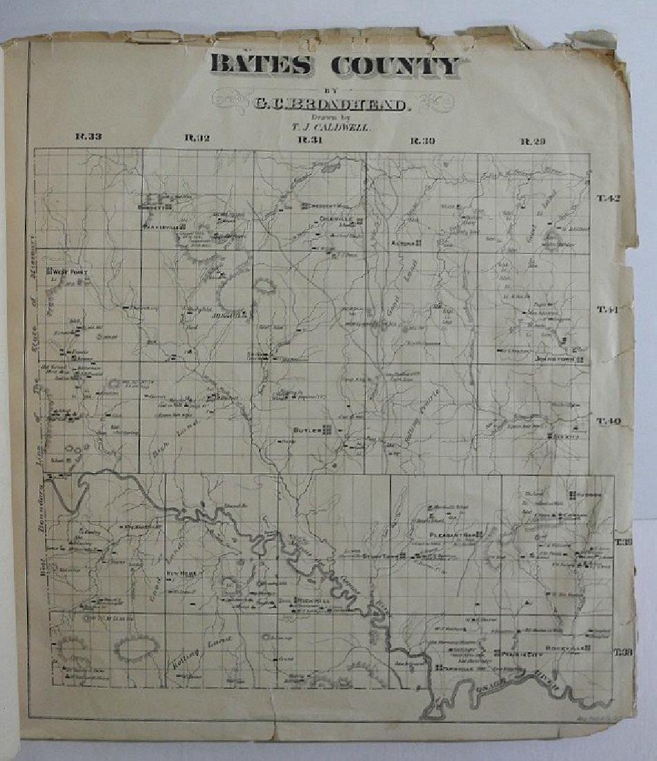 Antique Missouri County Atlas, 1874 - 6