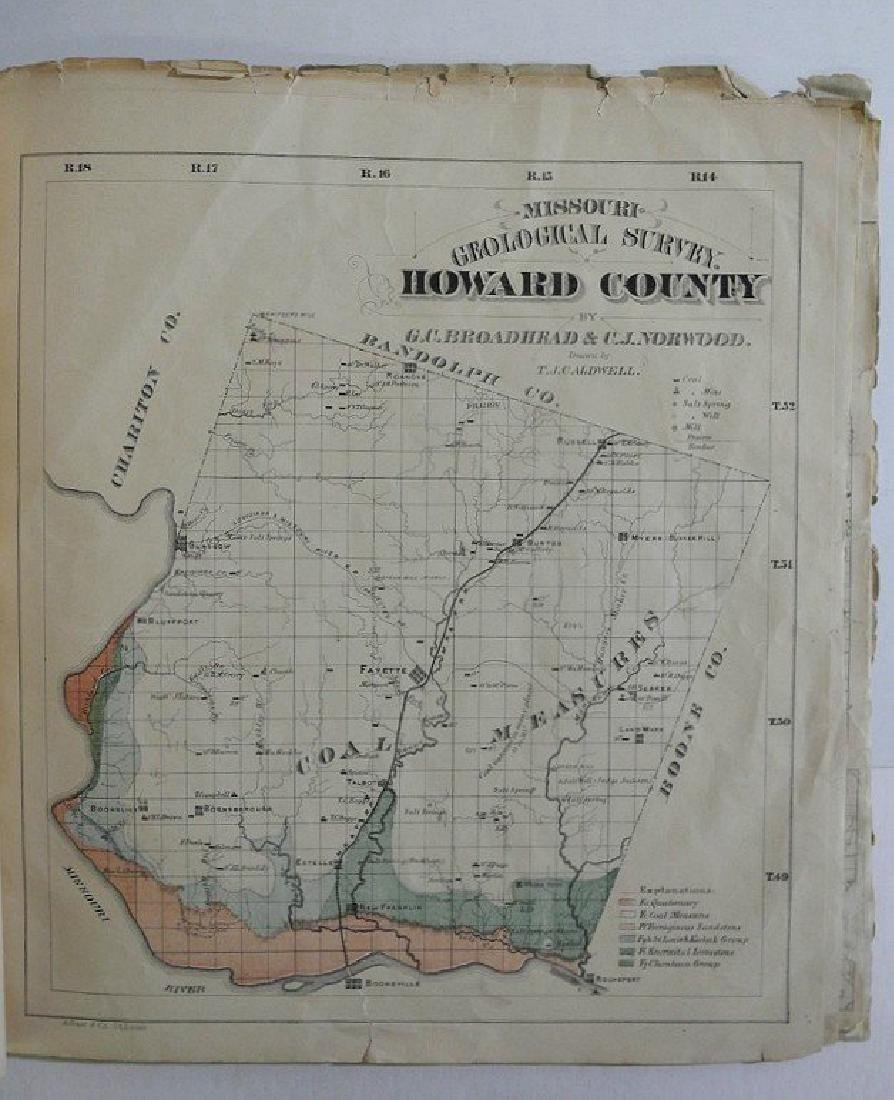 Antique Missouri County Atlas, 1874 - 7