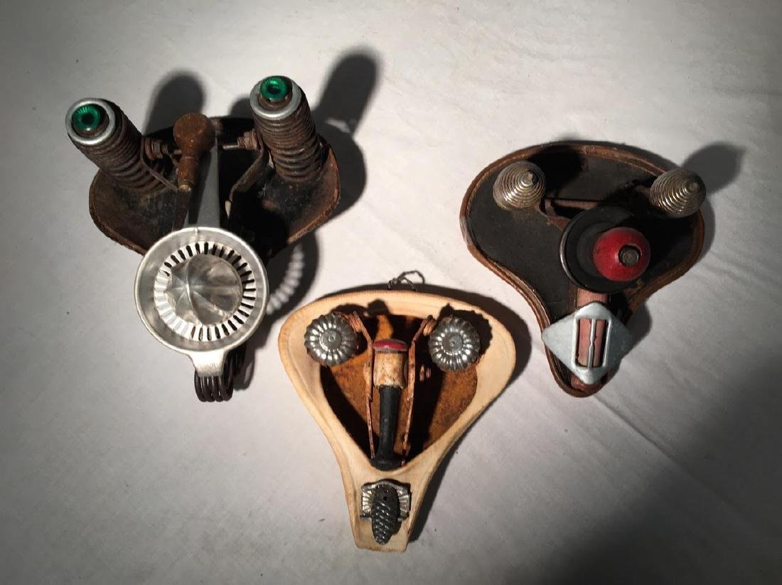 Collection of 3 Bicycle Seat Mask Constructions