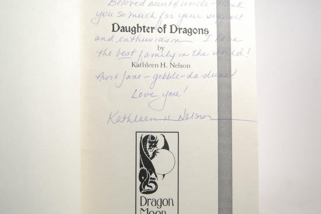 Daughter of Dragons. Signed copy