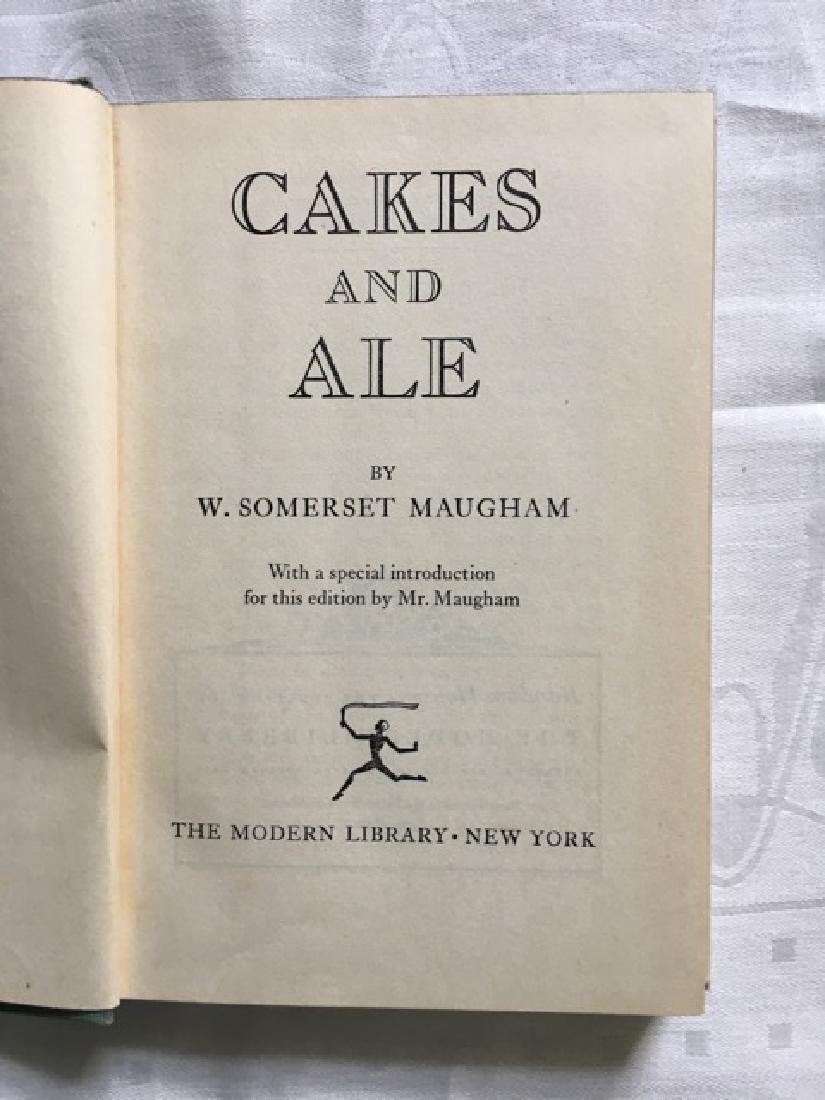 Cakes and Ale. W. Somerset Maugham - 4