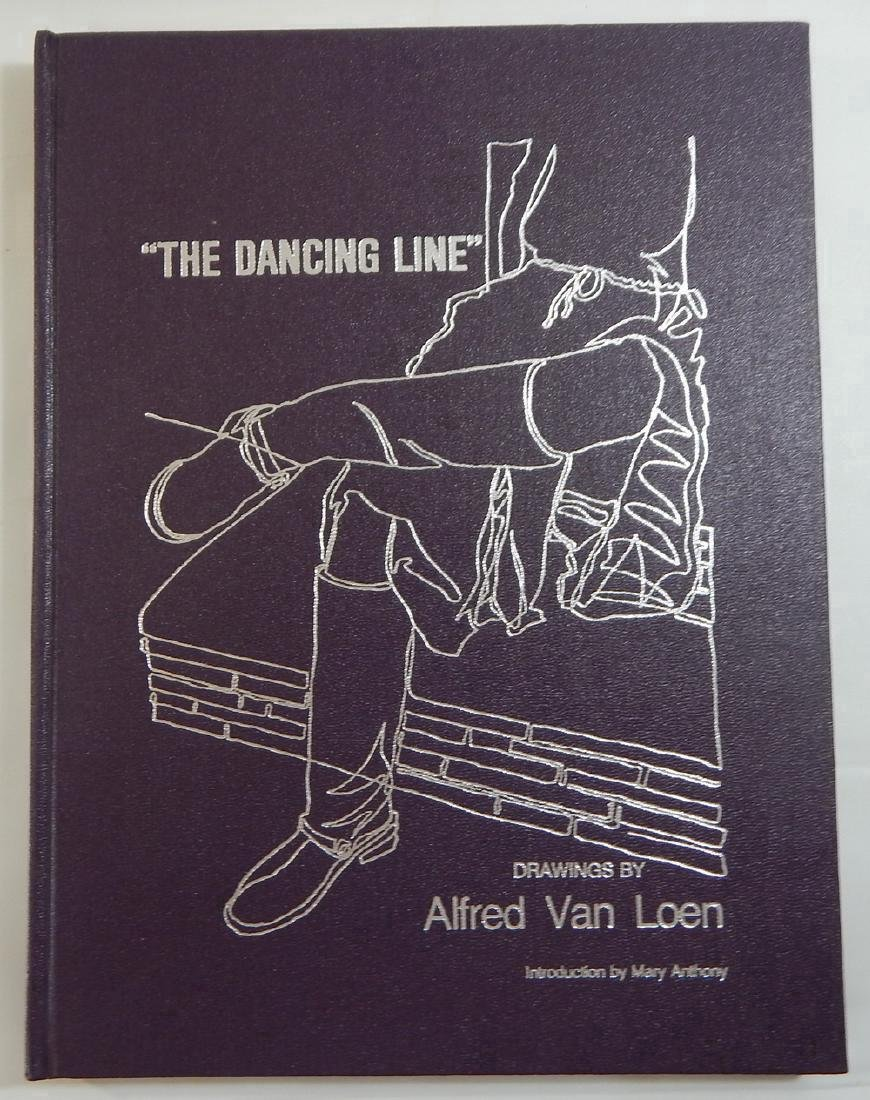 Signed by the author: The Dancing Line. Van Loen, Alfre