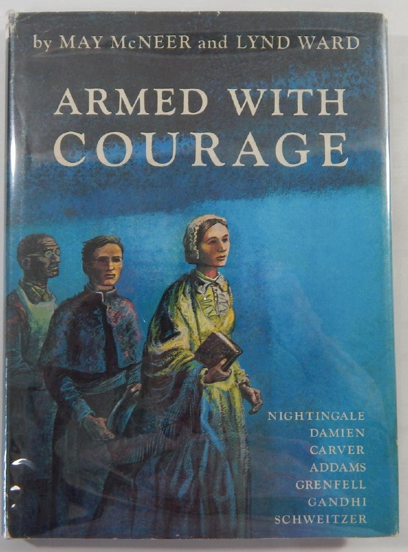 Signed by Lynd Ward: Armed with Courage