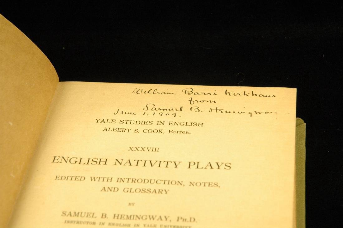 English nativity plays;. Hemingway, Samuel Burdett