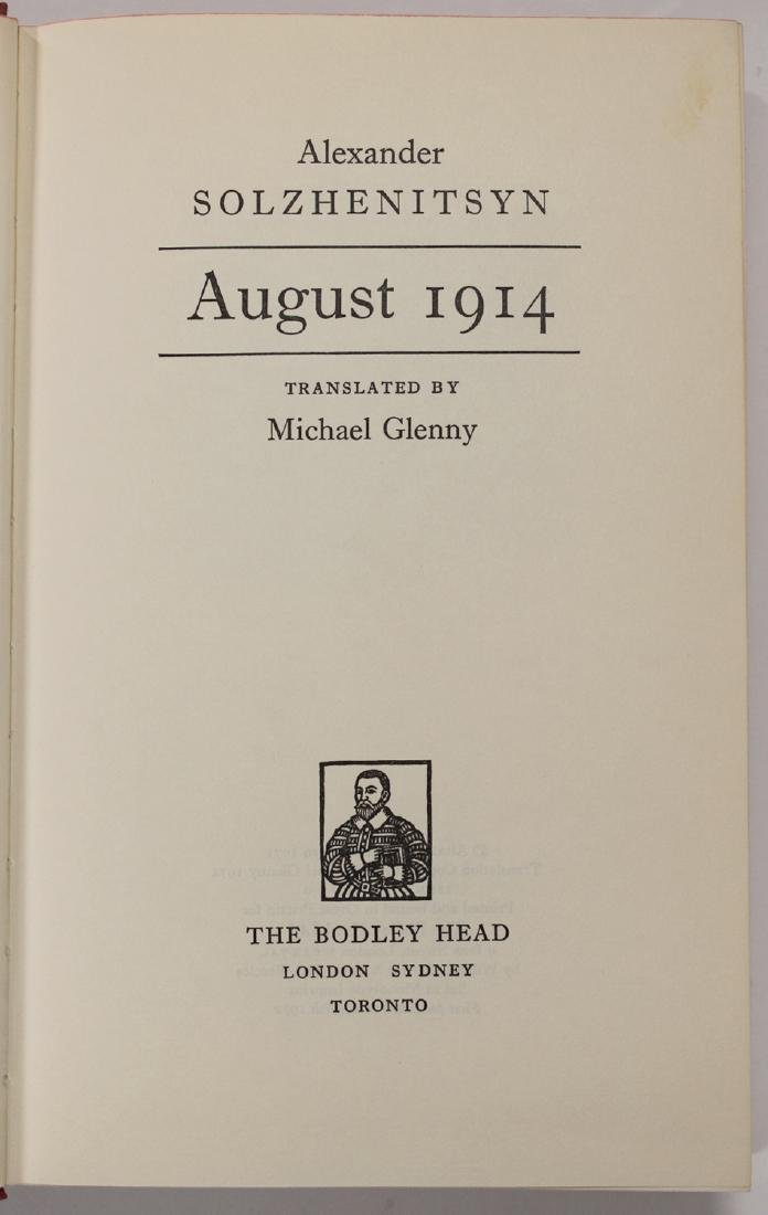 August 1914, First Edition - 4