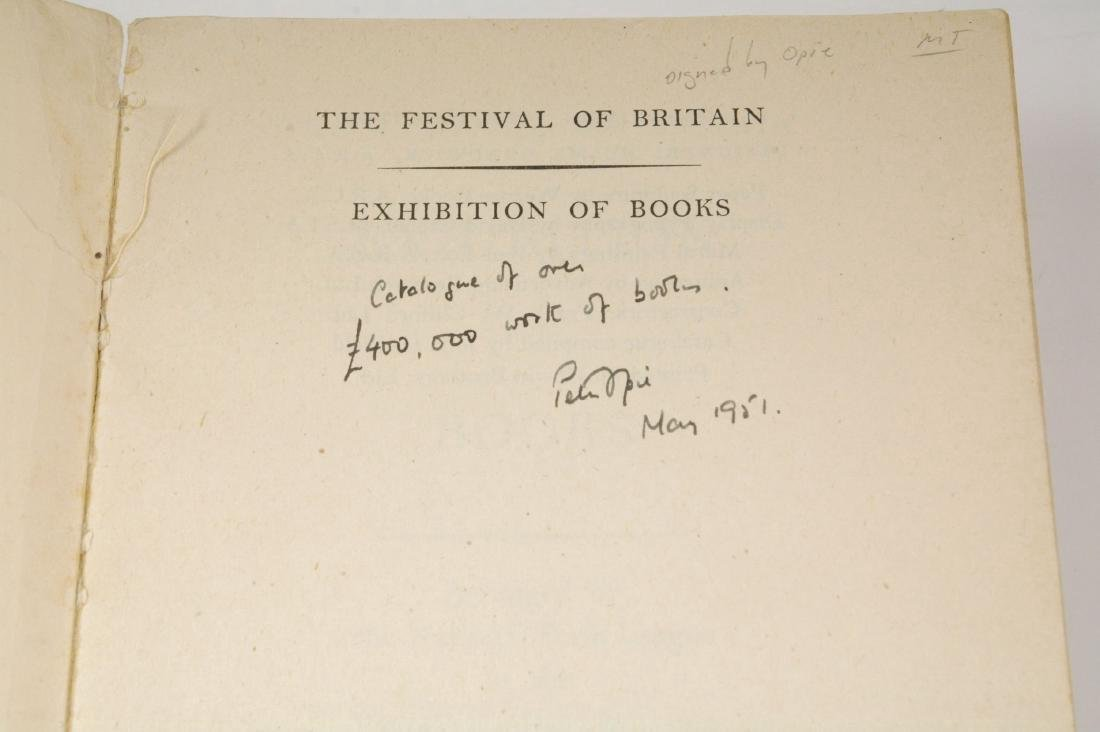 The Festival of Britain / Exhibition of Books