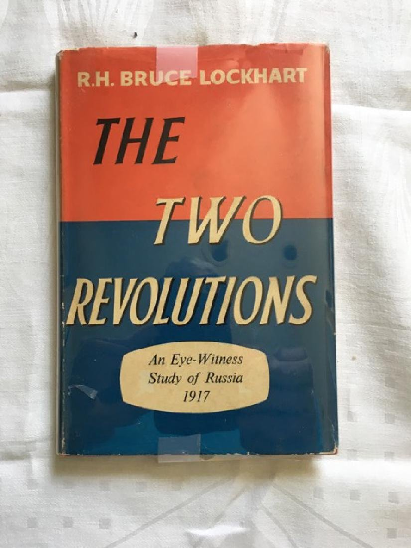 Two Revolutions: An Eye-Witness Study of Russia 1917