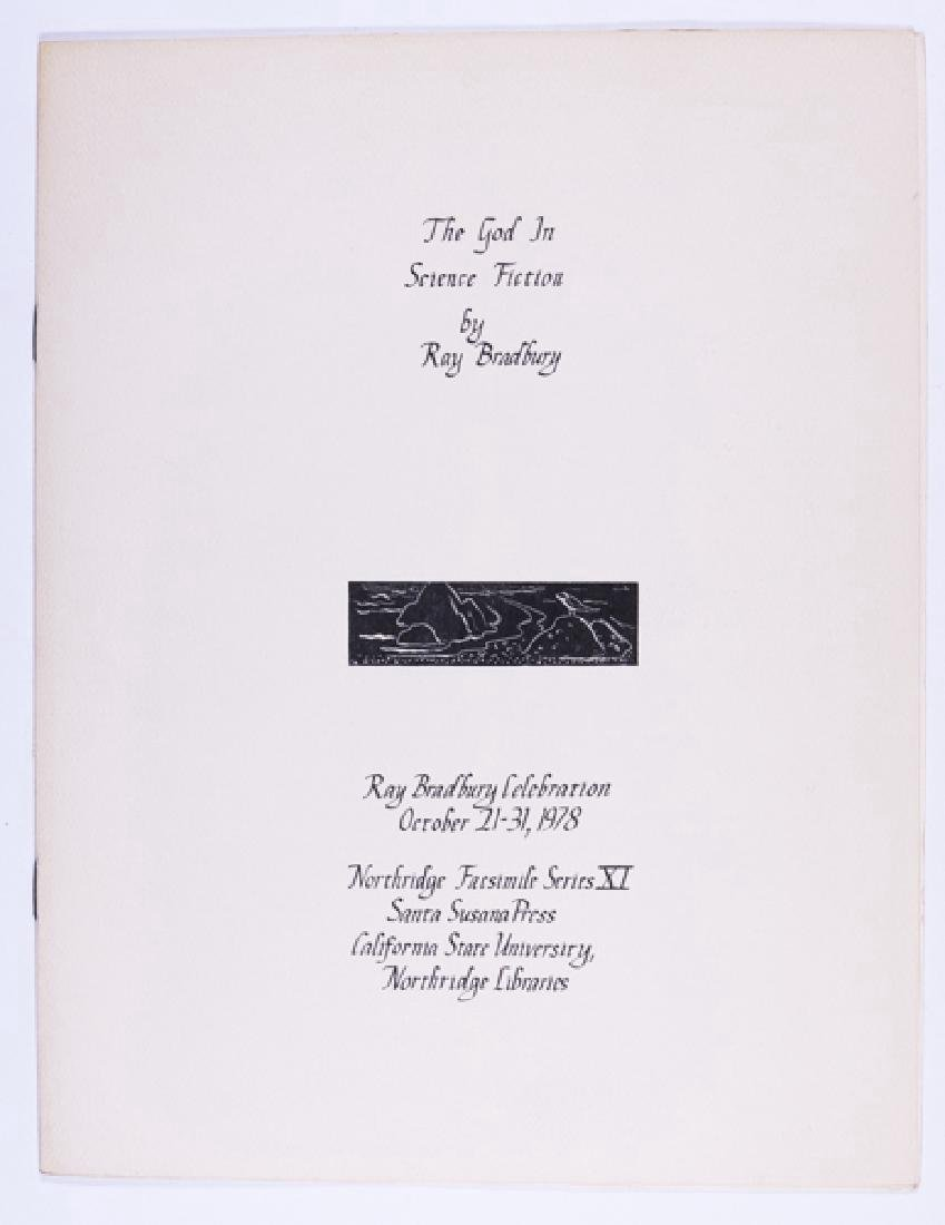 The God in Science Fiction - Signed by Ray Bradbury