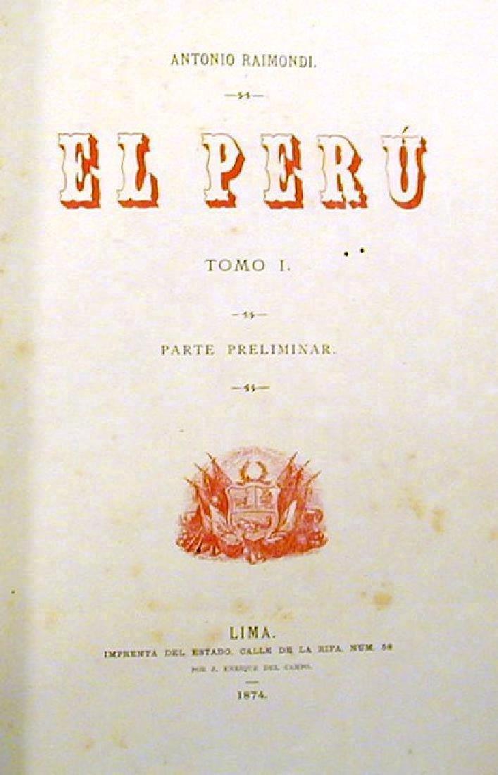 El Peru: Parte Preliminar and Historia de la Geografia - 3