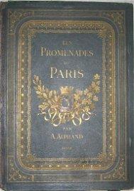 Chromolithographs: Les Promenades de Paris
