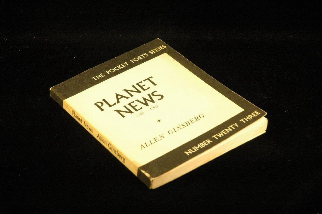 Planet News First Edition Allen Ginsberg, Number 23