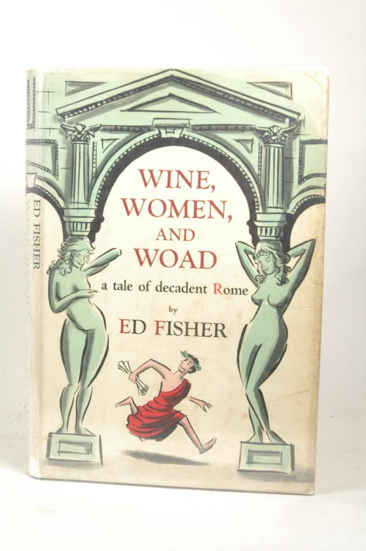 Wine, Women, and Woad: a Tale of Decadent Rome.