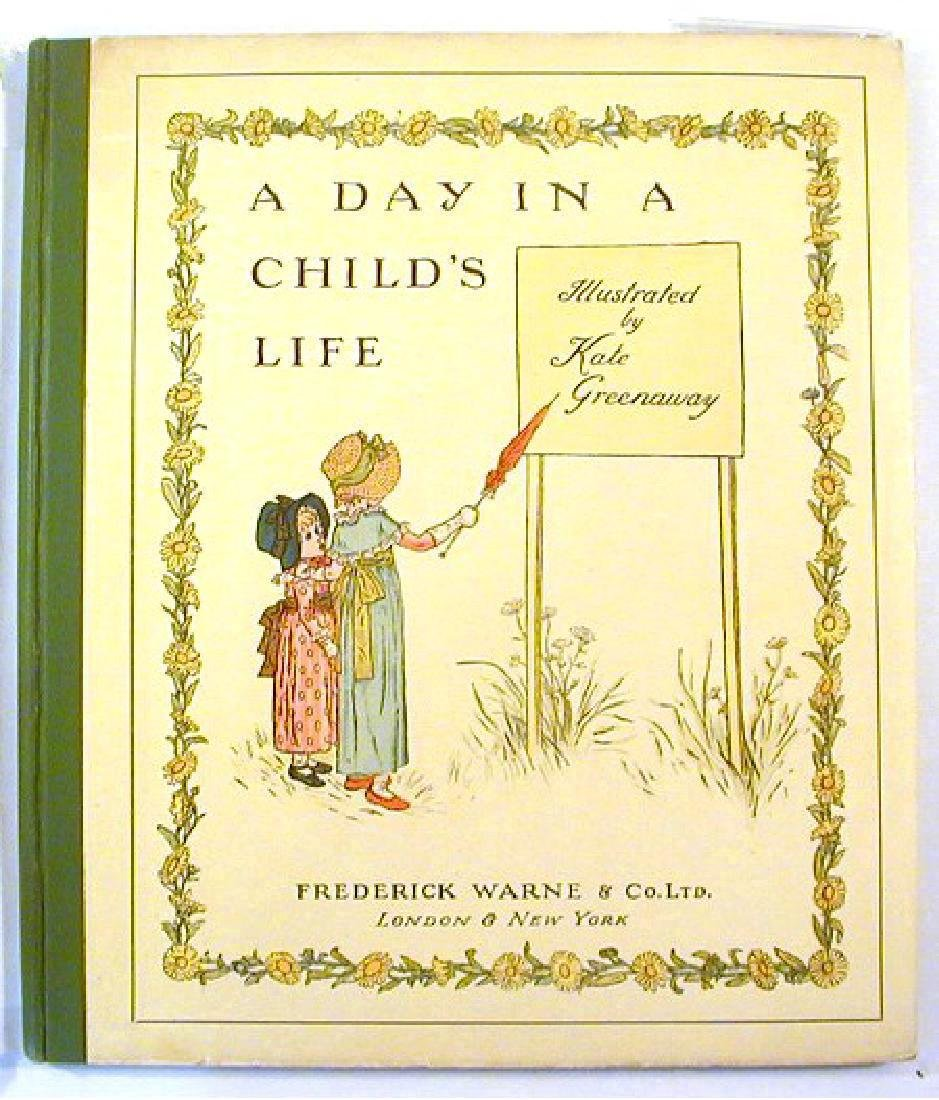 Day in a Child's Life. Greenaway, Kate; Myles B. Foster