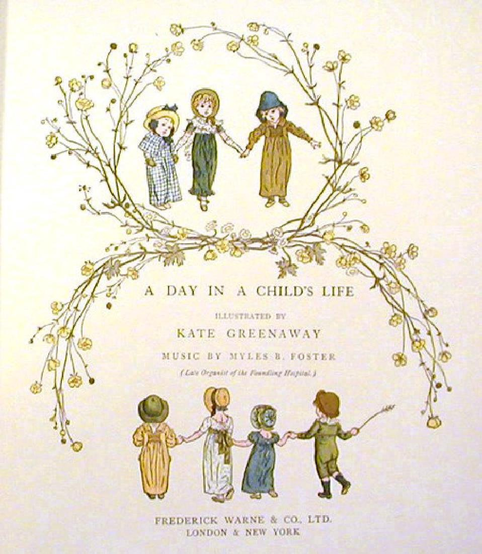 Day in a Child's Life. Greenaway, Kate; Myles B. Foster - 2