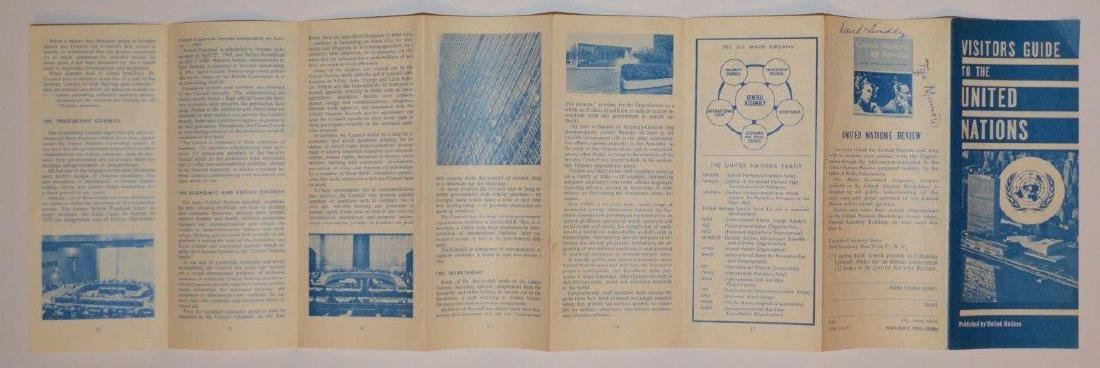 1960 Visitor Guide United Nations Promotional Pamphlet - 2