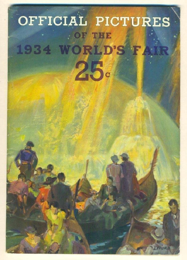 Official Pictures 1934 World Fair Chicago Kaufmann