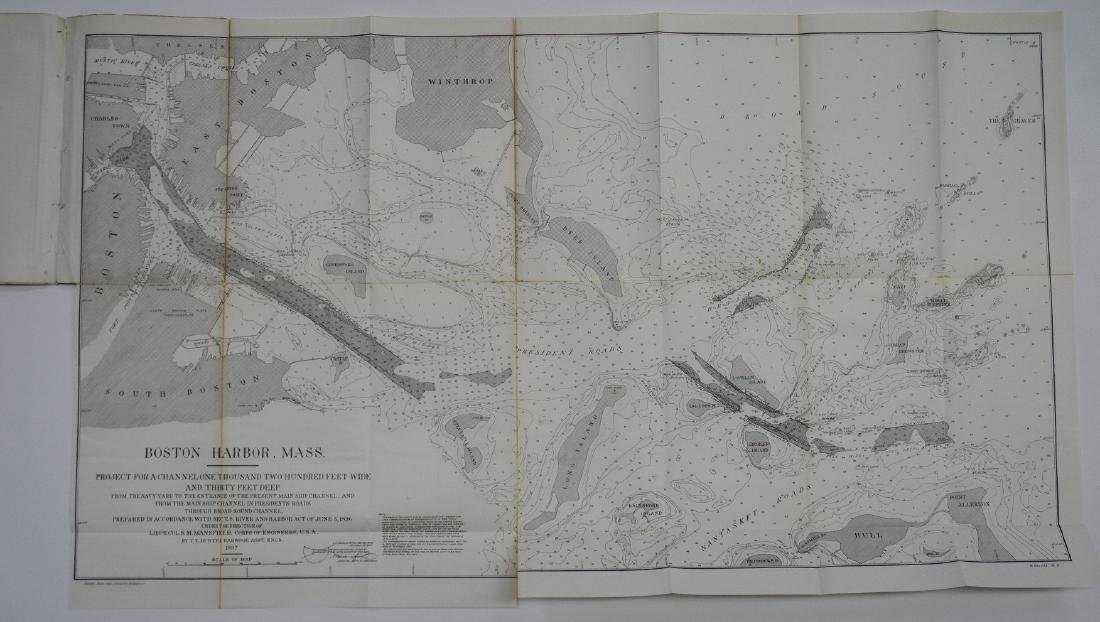Survey of Boston Harbor, Massachusetts - 2
