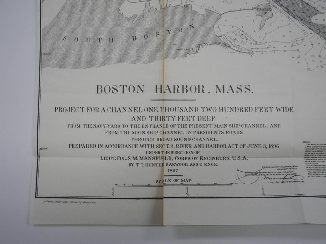 Survey of Boston Harbor, Massachusetts - 3