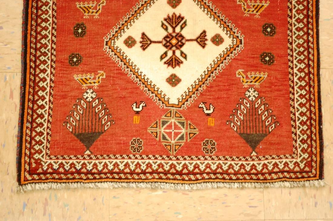 Vintage Persian Shiraz Qashkai Rug 2x2 - 2