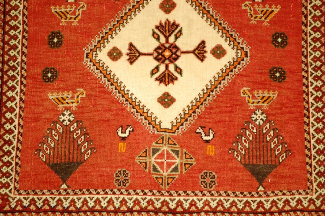 Vintage Persian Shiraz Qashkai Rug 2x2 - 4