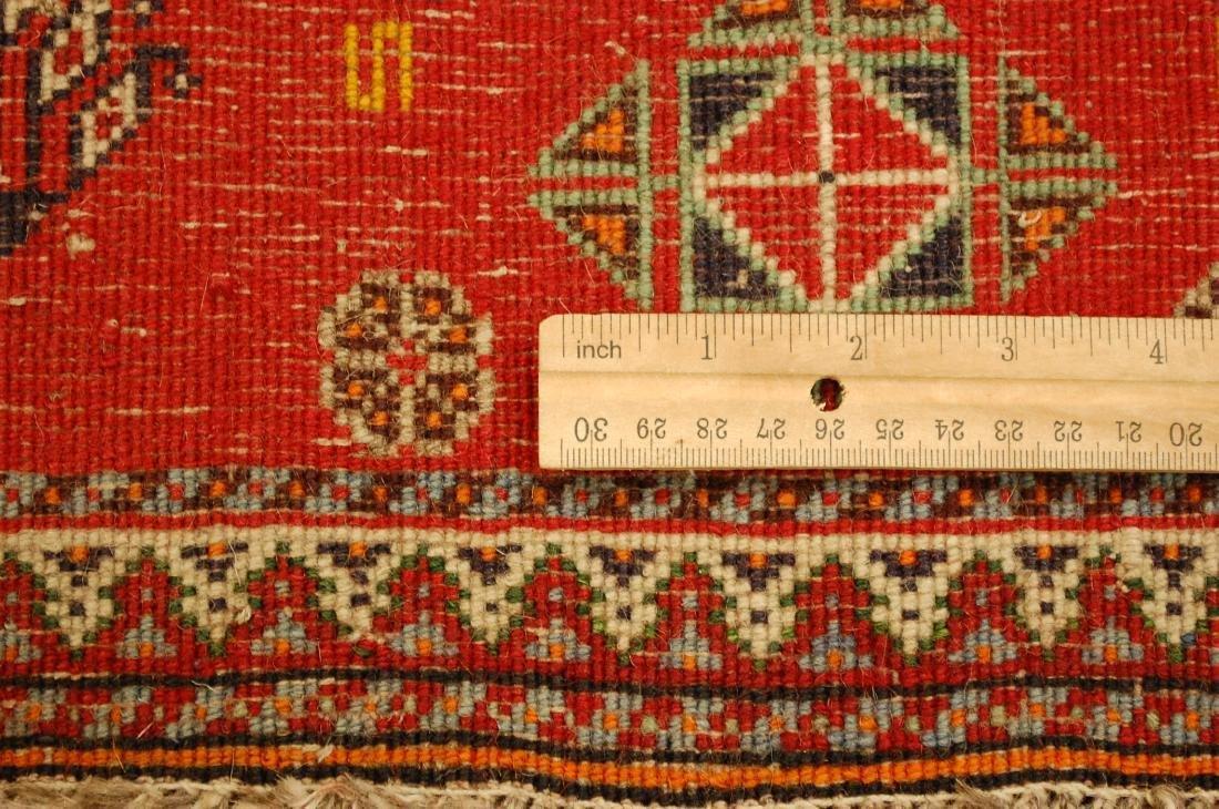 Vintage Persian Shiraz Qashkai Rug 2x2 - 6