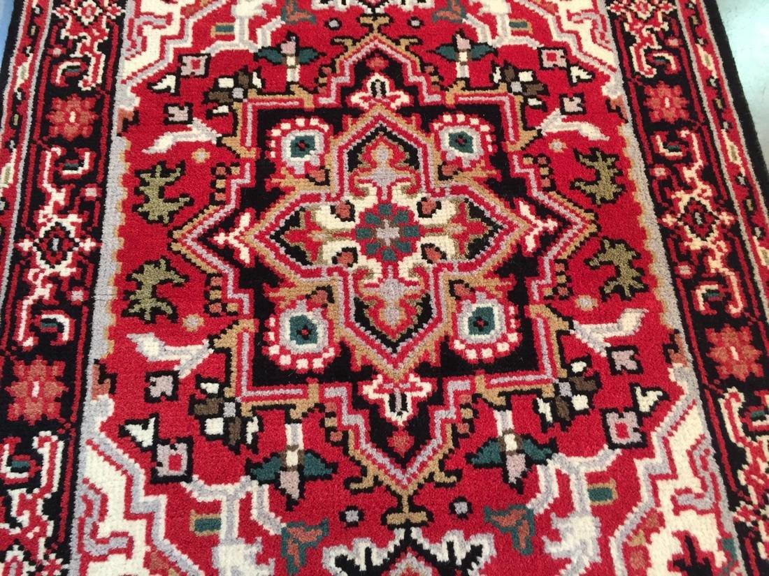 "Hand-knotted ""Serapi"" Wool Runner Rug 2.11x5 - 3"
