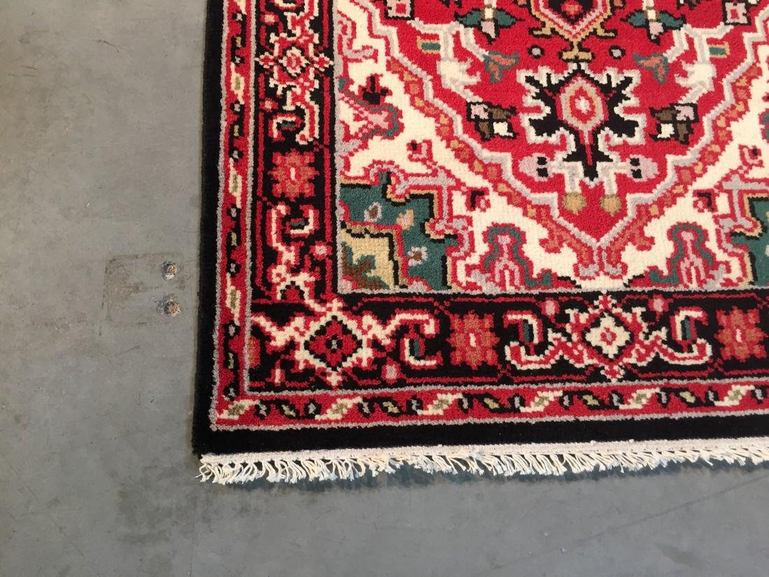 "Hand-knotted ""Serapi"" Wool Runner Rug 2.11x5 - 5"