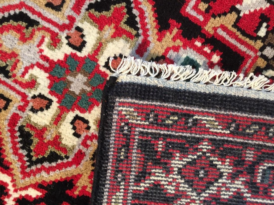 "Hand-knotted ""Serapi"" Wool Runner Rug 2.11x5 - 6"