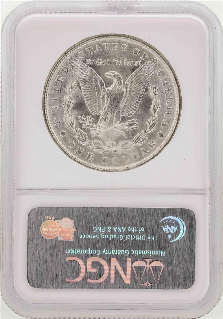 1887/1887 $1 Morgan Silver Dollar Coin Top-100 VAM-5 - 2