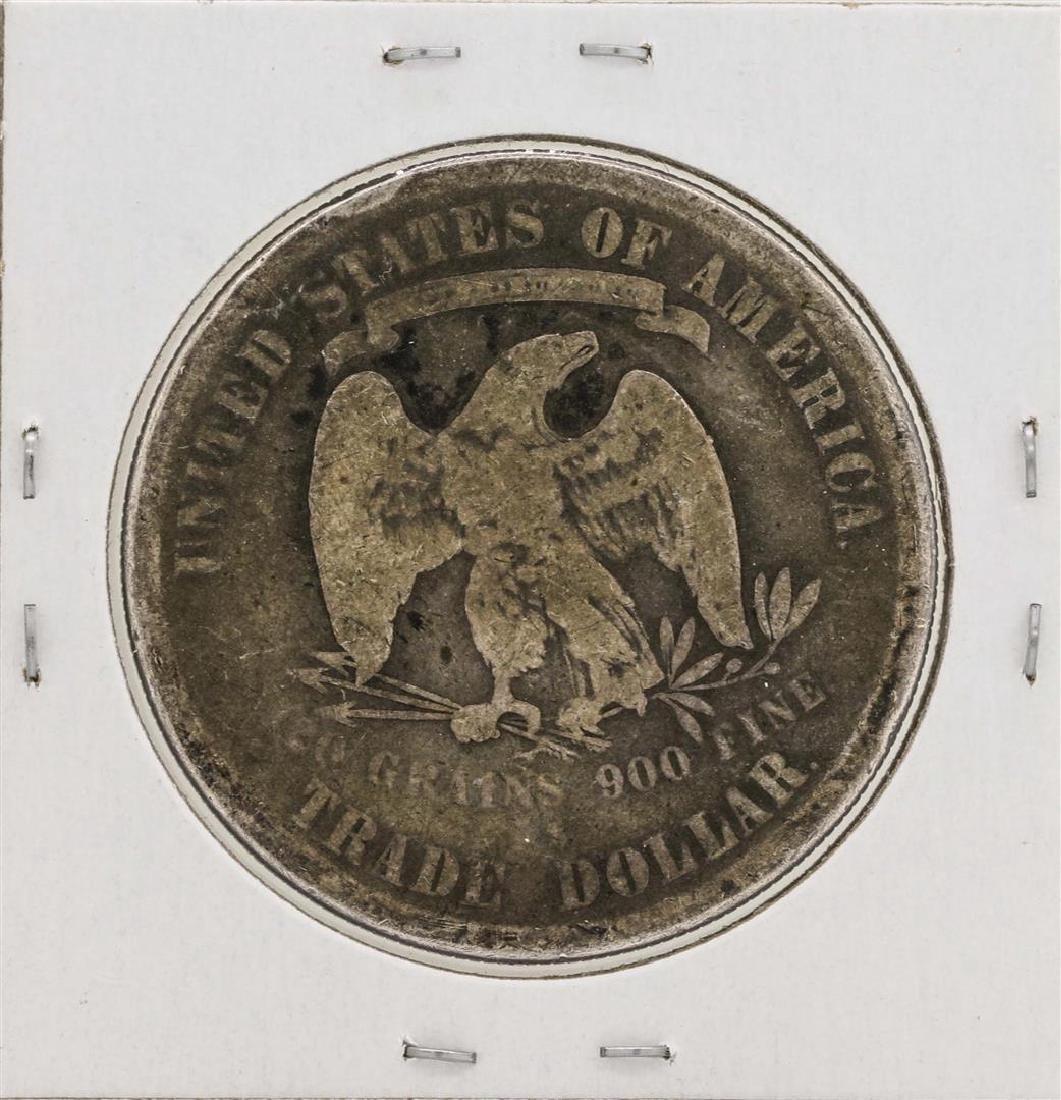1878 $1 Trade Silver Dollar Coin - 2