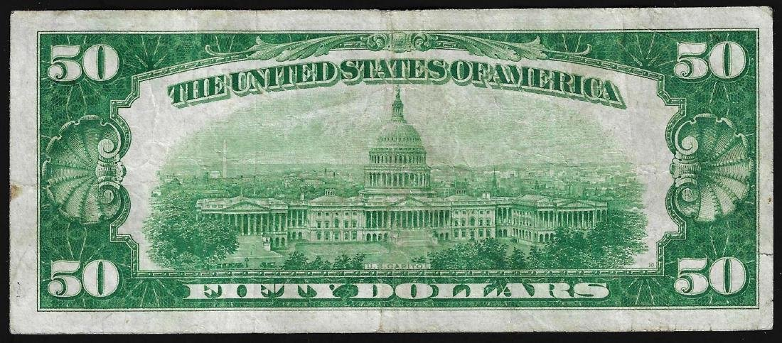1928A $50 Federal Reserve Note New York - 2