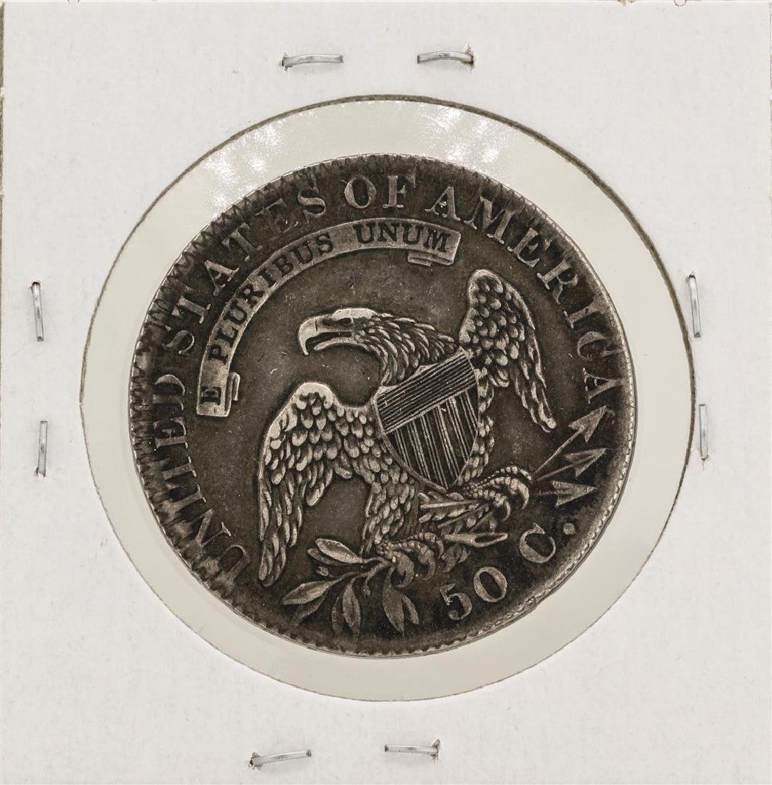 1831 Capped Bust Half Dollar Silver Coin - 2