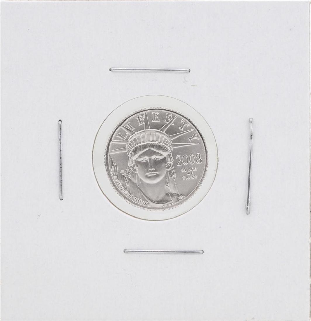 2008 $10 Platinum American Eagle Coin BU