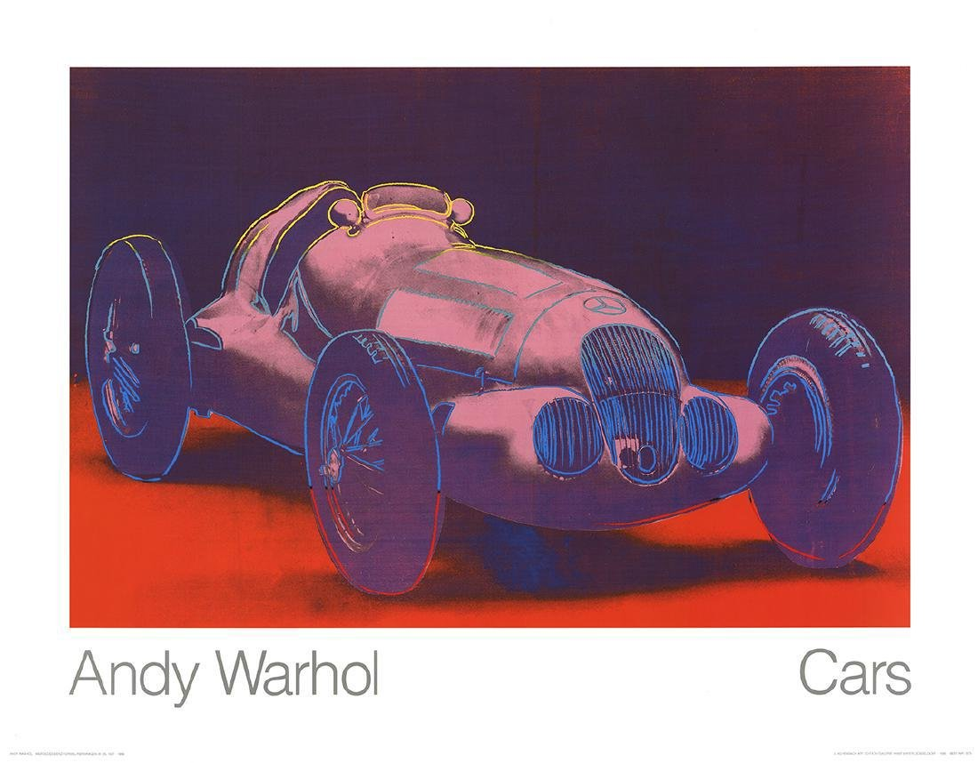 8 Assorted Andy Warhol Car Posters - 3