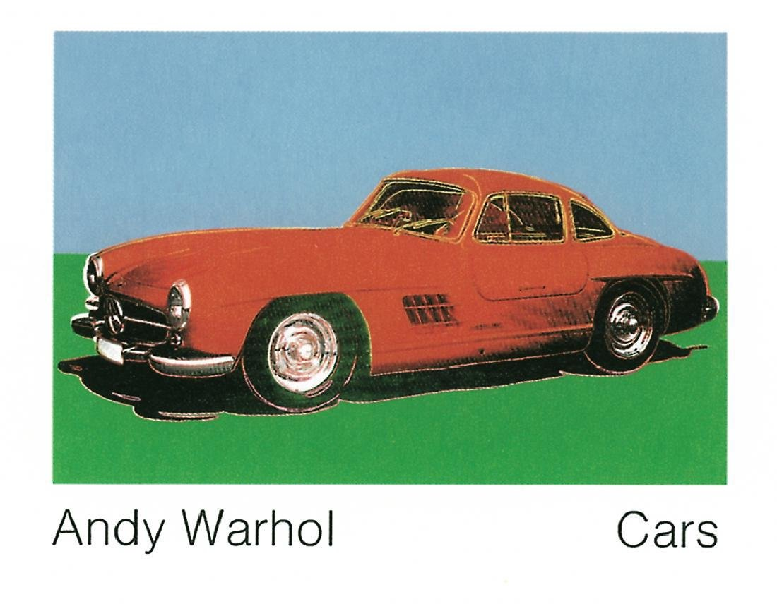 8 Assorted Andy Warhol Car Posters - 4